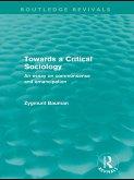 Towards a Critical Sociology (Routledge Revivals) (eBook, ePUB)