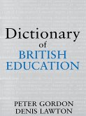 Dictionary of British Education (eBook, PDF)