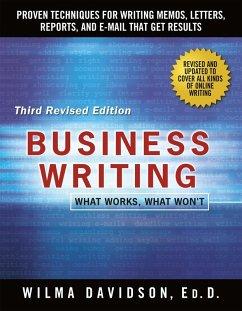 Business Writing (eBook, ePUB) - Davidson, Wilma