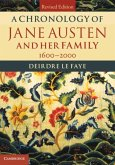 Chronology of Jane Austen and her Family (eBook, PDF)