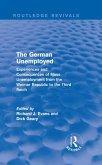 The German Unemployed (Routledge Revivals) (eBook, PDF)