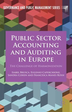 Public Sector Accounting and Auditing in Europe (eBook, PDF)