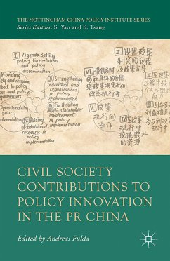 Civil Society Contributions to Policy Innovation in the PR China (eBook, PDF) - Fulda, A.