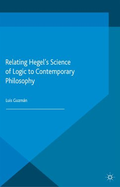 Relating Hegel's Science of Logic to Contemporary Philosophy (eBook, PDF)