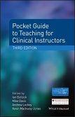 Pocket Guide to Teaching for Clinical Instructors (eBook, ePUB)
