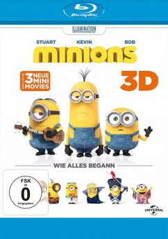 Minions 3D-Edition - Pierre Coffin,Sandra Bullock,Jon Hamm