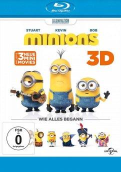 Minions (Blu-ray 3D, + Blu-ray 2D)