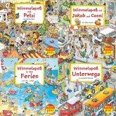 Wimmelbilder, 4 Hefte