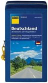 ADAC Karte Deutschland KartenSet 2016/2017, 10 Doppelblätter