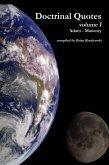 Doctrinal Quotes : Volume I: Adam - Masonry (eBook, ePUB)