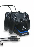 CHARGE Play & Charge Kabel mit Desktop-Ständer, Ladegerät, schwarz