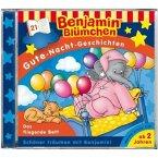 Benjamin Blümchen, Gute-Nacht-Geschichten - Das fliegende Bett, Audio-CD