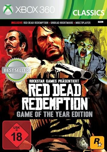 red dead redemption game of the year edition xbox 360. Black Bedroom Furniture Sets. Home Design Ideas