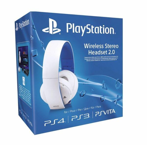 Sony Wireless Stereo Headset 2.0 - Weiß (für PlayStation 3, PlayStation 4, PSV)