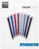 COLOR STYLUS, Stylus Set Rainbow, 8er Pack, für Nintendo 3DS XL/new3DS XL