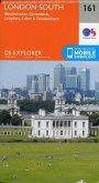 London South, Westminster, Greenwich, Croydon, Esher & Twickenham 1 : 25 000