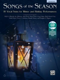 Songs of the Season: 10 Vocal Solos for Winter and Holiday Performances, Book & CD - Albrecht, Sally K.; Althouse, Jay; Beck, Andy