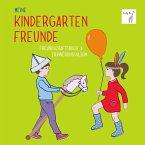 Vicky Bo's Kindergartenfreundebuch: Meine Kindergartenfreunde - Freundschaftsbuch & Erinnerungsalbum