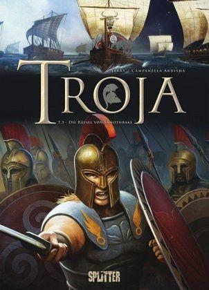 Buch-Reihe Troja