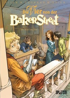 Die Vier von der Baker Street 06 - Djian, Jean-Blaise; Legrand, Olivier; Etien, David