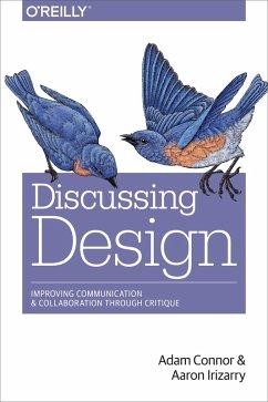 Discussing Design (eBook, ePUB) - Connor, Adam