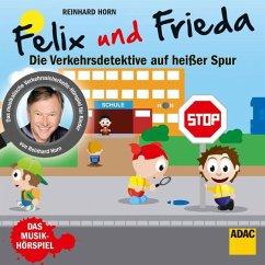 Felix & Frieda - Verkehrsdetektive, 1 Audio-CD