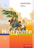 Horizonte 7 /8 . Schülerband. Geschichte für Gymnasien. Rheinland-Pfalz