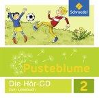 2. Schuljahr, 1 Audio-CD, Audio-CD / Pusteblume. Das Lesebuch, Ausgabe 2015 Berlin, Brandenburg, Mecklenburg-V., Sachsen-Anh., Thüringen
