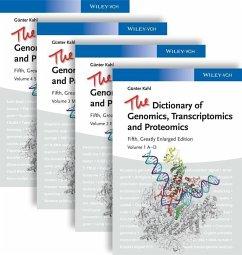 The Dictionary of Genomics, Transcriptomics and Proteomics (eBook, PDF) - Kahl, Günter