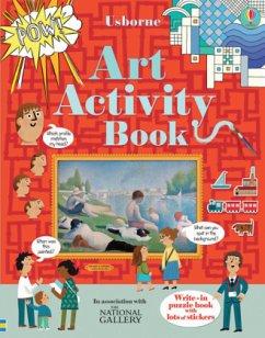 Usborne Art Activity Book - Dickins, Rosie; Baer, Sam