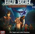 Hui Buh, das Schlossgespenst, neue Welt - Die Jagd nach dem Drachen, Audio-CD / Hui-Buh, das Schloßgespenst 23