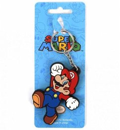 Nintendo Super Mario - Mario Rubber Keychain