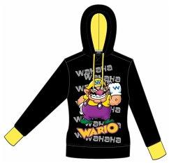 Nintendo Hoodie -S- Wario (schwarz)