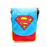 Superman Messenger Bag Logo (blau/rot)