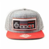 Nintendo - Controller Flat Bill Cap Snapback
