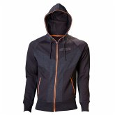 Killzone Zipper Hoodie -M-, schwarz/orange