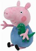 TY Peppa Pig Beanie George 15 cm
