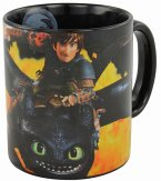 Dreamworks Dragons Tasse, Schwarz, Flamme