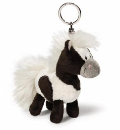 Pony Poonita stehend 10cm Schlüsselanhänger