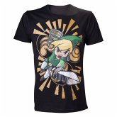Nintendo T-Shirt Zelda Wind Waker -L- Schwarz