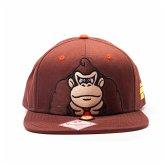 Nintendo Donkey Kong Snap Back Cap Braun