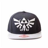 Nintendo Snapback Cap- Zelda schwarz mit Grau-Logo