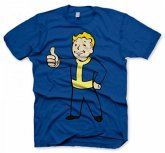 "Fallout T-Shirt - ""Thumbs Up"" - Blau - Größe XL"