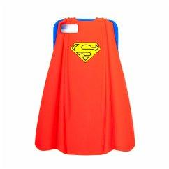 Superman iPhone 5 Schutzhülle (Umhang 3D silicon)