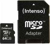 Intenso microSDXC Card 64GB Class 10 UHS-I Premium