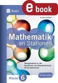 Mathe an Stationen 6 Gymnasium (eBook, PDF)