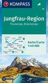 Kompass Karte Jungfrau-Region - Thunersee - Brienzersee