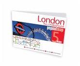 London Bus - Underground Popout Map, 2 maps