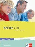 Natura 7-10. Biologie für Gymnasien. Ausgabe für Rheinland-Pfalz. Schülerbuch 7.-10. Schuljahr