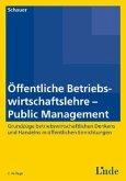 Öffentliche Betriebswirtschaftslehre - Public Management